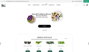 eCommerce website: AllThatGrows