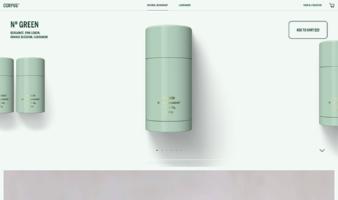 eCommerce website: Corpus Naturals