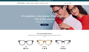 eCommerce website: Felix Gray