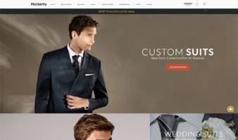 eCommerce website: Hockerty