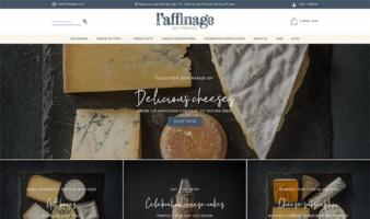 eCommerce website: L'Affinage