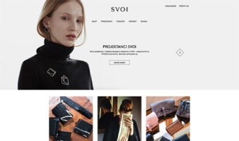 eCommerce website: SVOI
