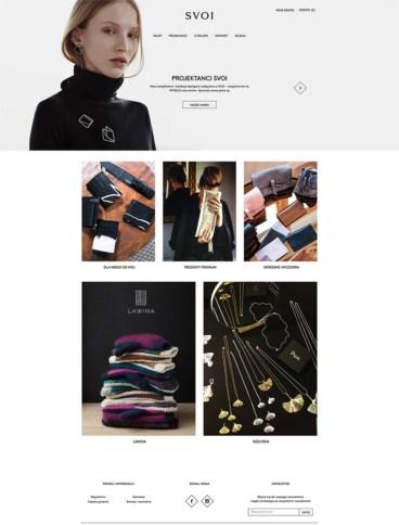 eCommerce website: SVOI