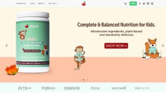 eCommerce website: Yuve