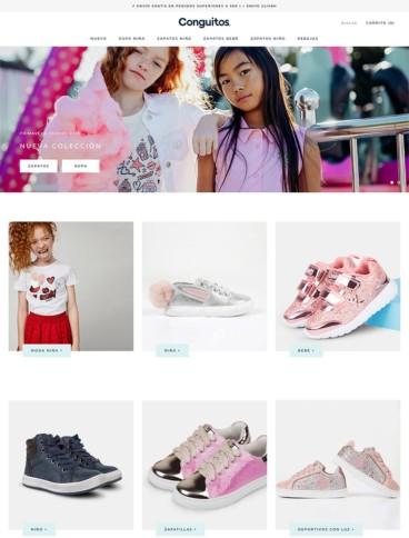 eCommerce website: Conguitos