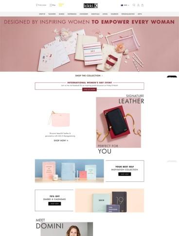 eCommerce website: kikkiK
