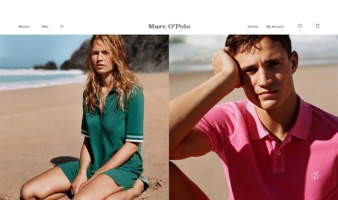 eCommerce website: Marc O' Polo