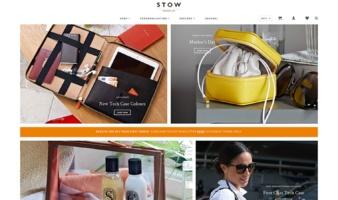 eCommerce website: Stow
