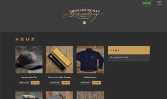 eCommerce website: Adelphi Distillery