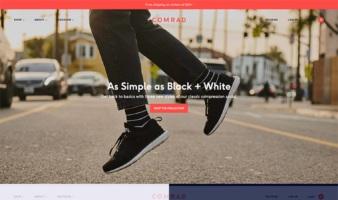 eCommerce website: Comrad