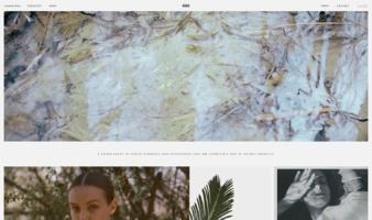 eCommerce website: HIRAETH