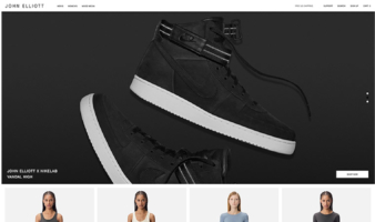 eCommerce website: John Elliott