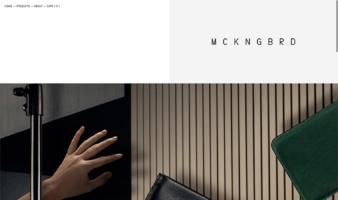 eCommerce website: M C K N G B R D