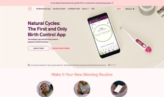 eCommerce website: Natural Cycles