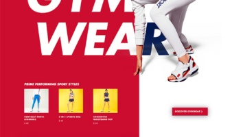 eCommerce website: Tommy Sport