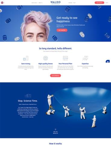 eCommerce website: Waldo