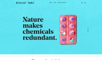 eCommerce website: biocol labs