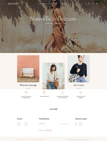 eCommerce website: Maradji