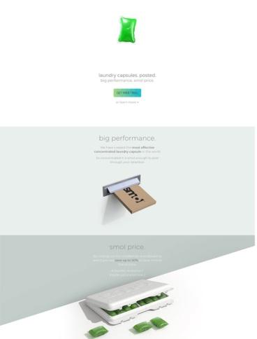 eCommerce website: smol