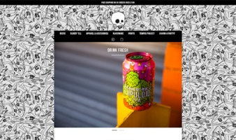 eCommerce website: Beavertown Brewery