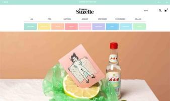 eCommerce website: Coucou Suzette