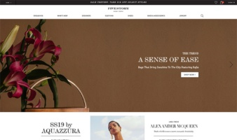 eCommerce website: Fivestory