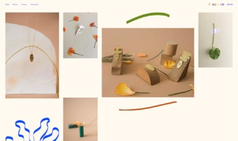 eCommerce website: Freya