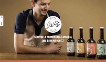 eCommerce website: Gritz