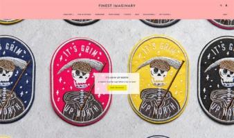 eCommerce website: Finest Imaginary