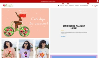 eCommerce website: Madalina Andronic