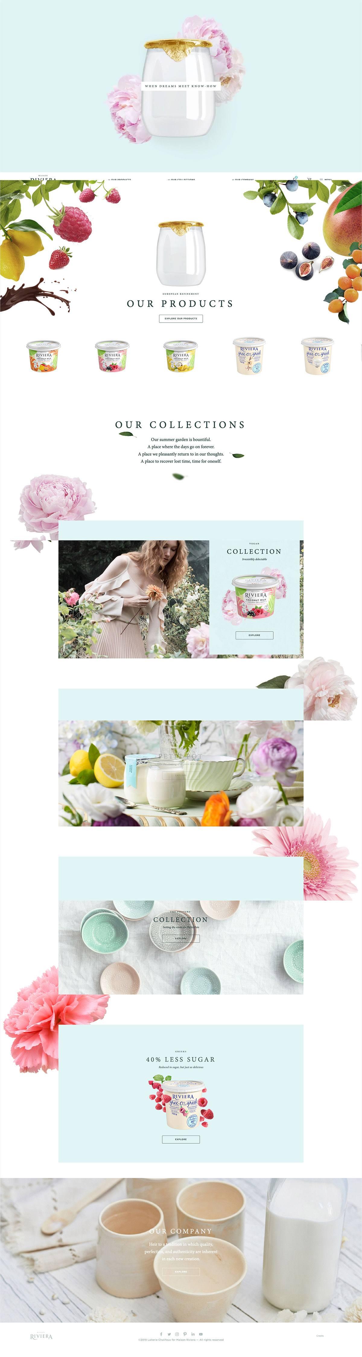 eCommerce website: Maison Riviera