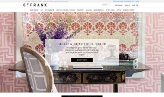 eCommerce website: St. Frank