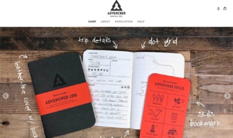 eCommerce website: Advencher Supply Co.