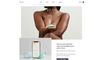 eCommerce website: Elvie