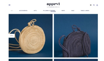 eCommerce website: Apprvl