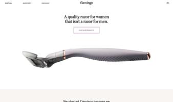 eCommerce website: Flamingo