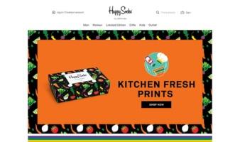 eCommerce website: Happy Socks