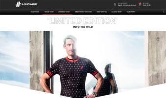 eCommerce website: Hincapie Sportswear