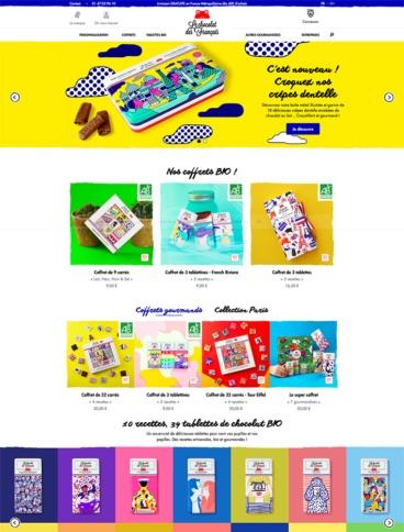 eCommerce website: Le chocolat des Français