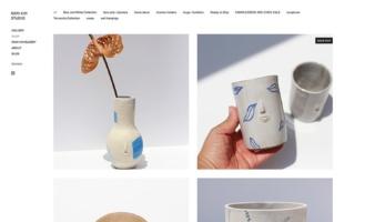 eCommerce website: Rami Kim Shop