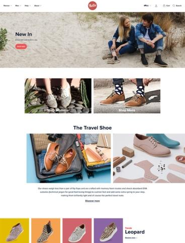eCommerce website: Rollie Nation