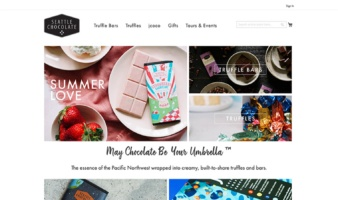 eCommerce website: Seattle Chocolate
