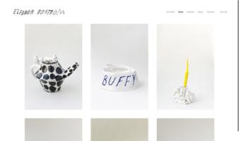 eCommerce website: Eleonor Bostrom