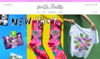 eCommerce website: gentle thrills