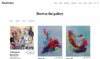 eCommerce website: Blackwater