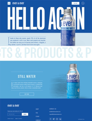 eCommerce website: Ever & Ever