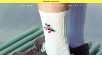eCommerce website: Ixar Design