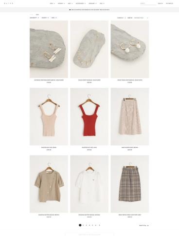 eCommerce website: Olive