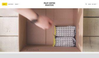 eCommerce website: Pilot Coffee