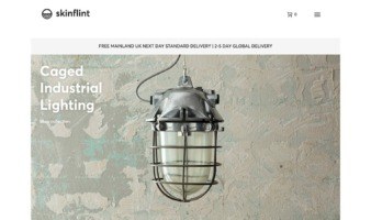 eCommerce website: Skinflint